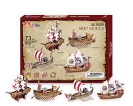 3D puzzel schepen