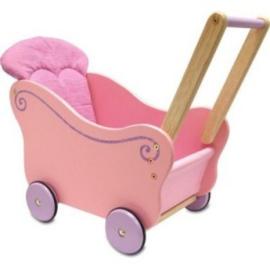 Poppenwagen roze I'm Toy