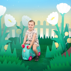 Trunki kinderkoffer Flora de fee