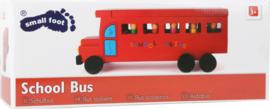 Houten schoolbus
