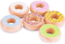 Houten donuts