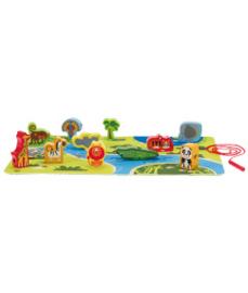 Hape 3 in speelset safari