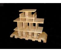 BBlocks bouwplankjes 100 stuks in opbergdoos