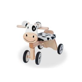 Houten loopfiets koe I'm Toy