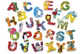 Houten decoratieletters & cijfers