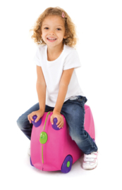 Trunki kinderkoffer Trixie roze
