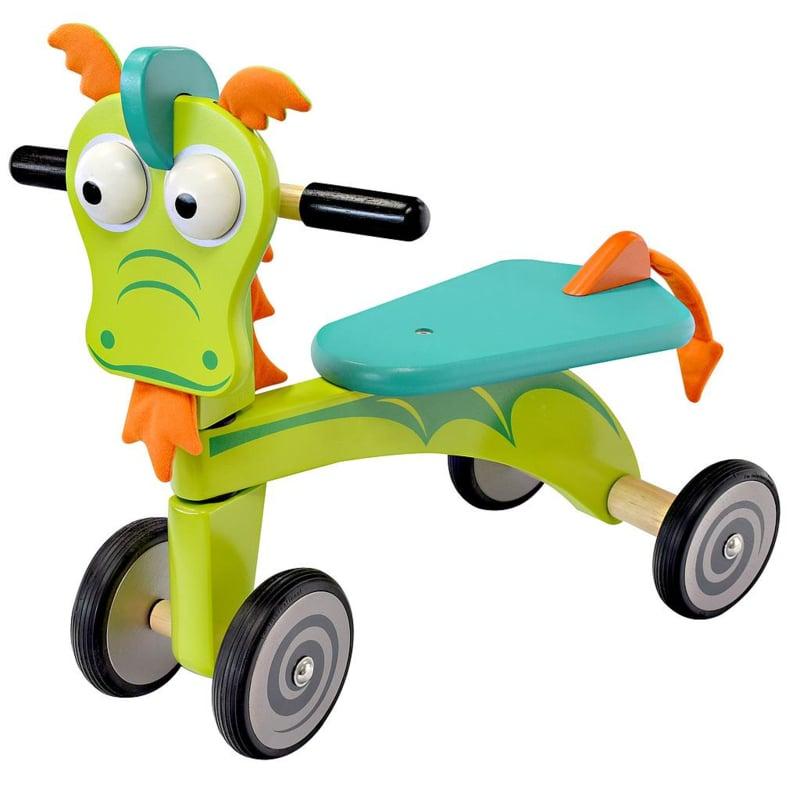 Houten loopfiets draak I'm Toy