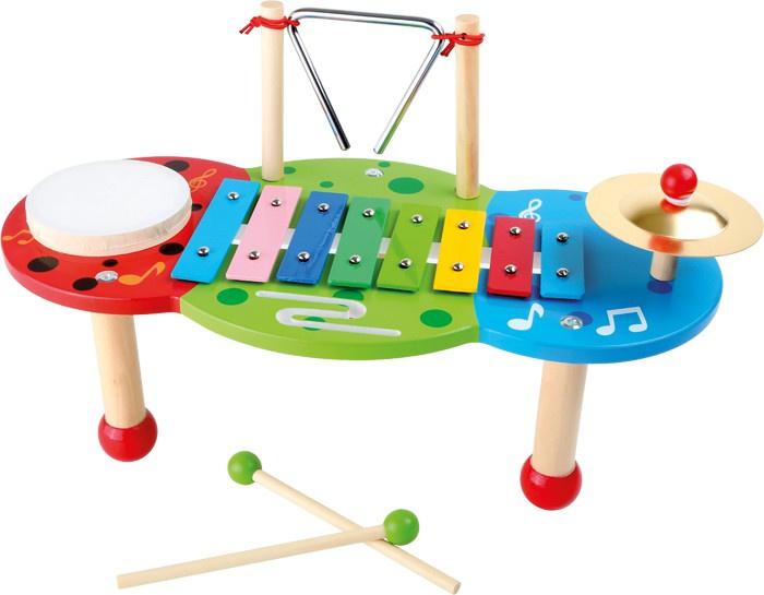 Houten muziektafel deluxe