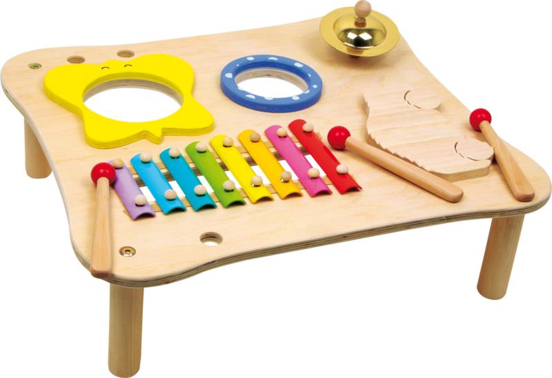 Houten muziektafel happy