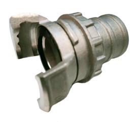 DSP & AR slangkoppeling met grendel | Raccord DSP & AR avec verrou | ND / DN 40 voor slang 45 mm