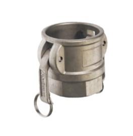 "Aluminium Camlock / Kamlok type D - DN 13 met 1/2"" BSPP binnendraad"