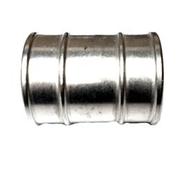 """Reparatiestuk / Slangverbinder aluminium voor 2"""" - 52 mm slangen"""