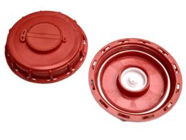 IBC schroefdeksel | vuldop voor vulopening IBC tank + DN 150 | S165x7 binnendraad + beluchting / ontluchting