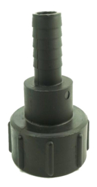"IBC binnendraad S60 x 6 + slangtule 12 mm /  1/2"" met zaagvertanding"