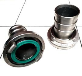 "Storz RVS koppeling slangtule 1"" - 25 mm NOK 31 lange pilaar (Storz D)"