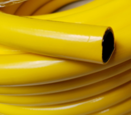 Professionele waterslang geel 38 mm x 50 meter | 5-laags anti-torsie hose (ATH) | € 4,30 per meter