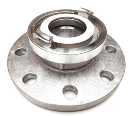 Storz aansluitstuk aluminium + flens aluminium PN 10 | PN 16