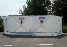 Afzetscherm / Privacy Screen 720 x 180 cm professional WITH YOUR FULL COLOUR LOGO