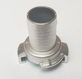 """Snelkoppeling type GEKA / GK RVS slangtule 3/8"""" - 10 mm"""