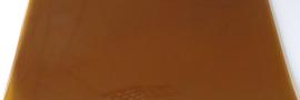 PVC lasstrook brons 300 x 2 mm (rol 50 meter / € 4,70  per meter) TOPKWALITEIT