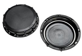 IBC schroefdeksel | vuldop voor vulopening IBC tank + DN 150 | S165x7 grove binnendraad zwart