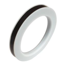 "PTFE | Teflon envelop + EPDM rubber afdichting | afdichtring voor Camlock | Kamlok - DN 15 | 1/2"""