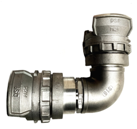 DSP | AR  BOCHT 90 graden IN: DSP 40 (45) | UIT: DSP 40 (45)