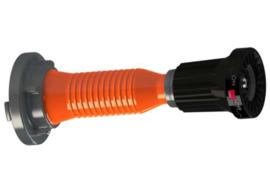 Professionele Straalpijp / Nozzle AWG HS 12 met MED / Stuurwiel / Wheelmark keur + aluminium Storz NOK / NA 52 aansluitstuk