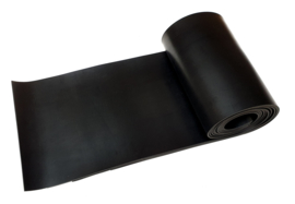 Universele SBR rubber plaat 100 x 100 cm | dikte 1 mm - 8 mm