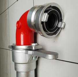 Standpijp / opzetstuk DN 80 voor ondergrondse hydranten - 1 uitgang  + Storz NOK / NA 52