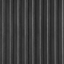 Ribloper zwart met brede lengteribbel 3 mm dik x 100 cm breed | Rol = 10 meter | € 9,85 per strekkende meter