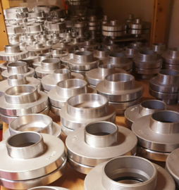 "Storz aansluitstuk aluminium NOK 160 - 5"" BSP binnendraad"