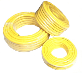 PVC professionele gele waterslangen (ATH - Anti-Torsion Hose)
