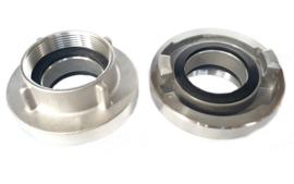 "Storz aansluitstuk aluminium NOK 133 - 4,5"" BSP binnendraad"