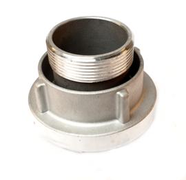 """Storz aansluitstuk aluminium NOK 66 - 2"""" BSP buitendraad DRAAIBAAR"""