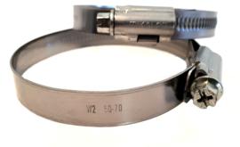 Professionele wormschroef slangklem voor brandslang | waterslang | luchtslang | Bereik 16-27 mm