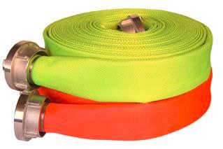 Top Synthetic Reflex / 50 S fluoriserende brandslang (3 kleuren)
