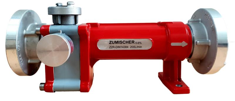 Professionele Schuim Tussenmenger Type Z4R   400 liter / minuut