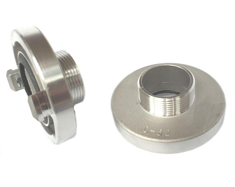 """Storz aansluitstuk aluminium NOK 44 - 1 1/4"""" BSP buitendraad"""