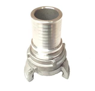 """Guillemin koppeling aluminium met slangtule + grendel ND / DN 80 - 3"""" - slang ID 90 mm"""