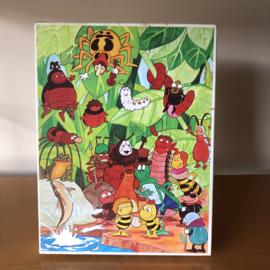 Vintage puzzel Maja de bij