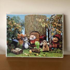 Vintage puzzel Paulus de boskabouter