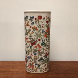Vintage radiatorbakje bloemen