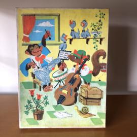 Vintage houten kinderpuzzel