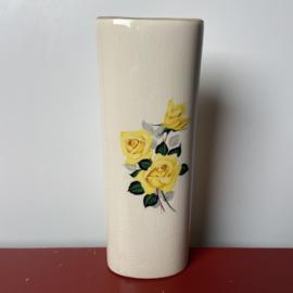 Radiatorbakje gele rozen