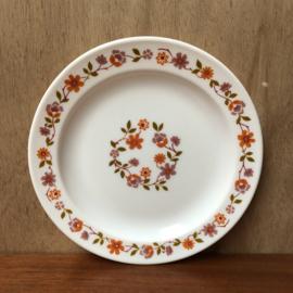 Vintage arcopal scania ontbijtbord
