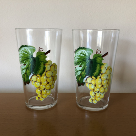 Vintage glazen druiven