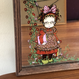 Sarah Kay vintage spiegel
