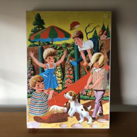 Vintage jig-saw puzzel