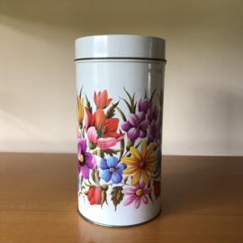 Vintage bloemen blik Ark